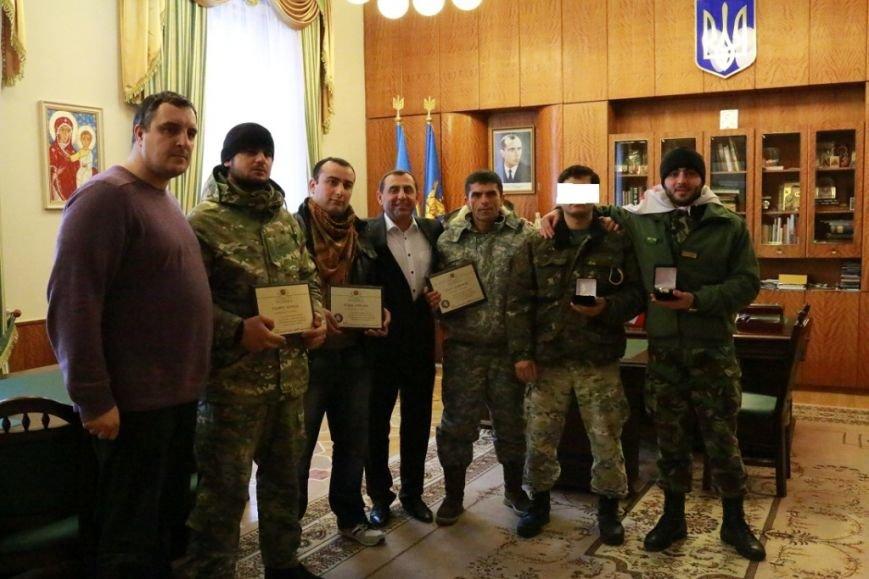 У Львові грузинські снайпери отримали нагороди за навчання наших бійців (ФОТО) (фото) - фото 2