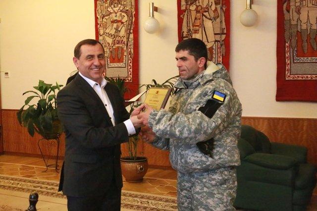 У Львові грузинські снайпери отримали нагороди за навчання наших бійців (ФОТО) (фото) - фото 1