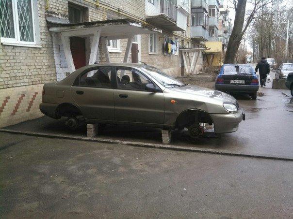 У Львові роззули іномарки (ФОТО) (фото) - фото 2