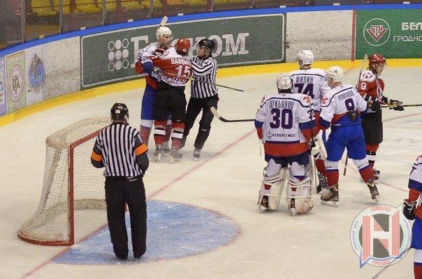 ХК «Неман» и ХК «Металлург» «поделили» победы в первых четвертьфинальных матчах плей-офф, фото-2