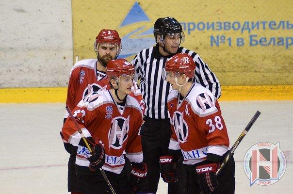 ХК «Неман» и ХК «Металлург» «поделили» победы в первых четвертьфинальных матчах плей-офф (фото) - фото 1