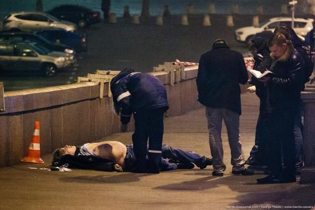 Вечером в пятницу в центре Москвы застрелен российский оппозиционер Борис Немцов, фото-2