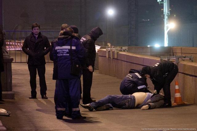 Вечером в пятницу в центре Москвы застрелен российский оппозиционер Борис Немцов, фото-3