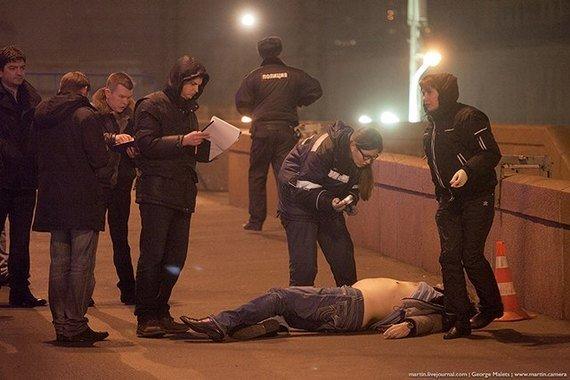 У Москві застрелили одного з лідерів російської опозиції Бориса Нємцова (ПРЯМИЙ ЕФІР З МІСЦЯ ПОДІЇ, ФОТО, ВІДЕО) (фото) - фото 3