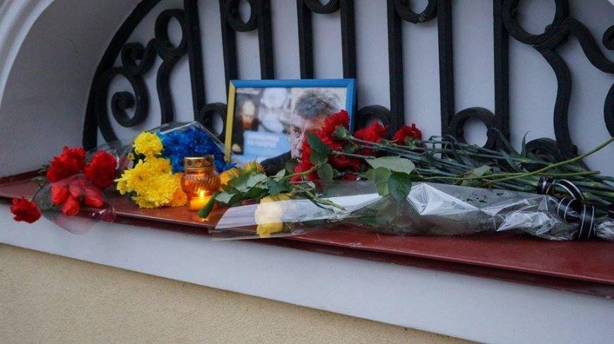 Харьковчане почтили память Бориса Немцова (ФОТО), фото-8