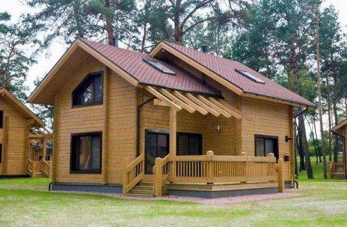 купить готовый дом из бруса