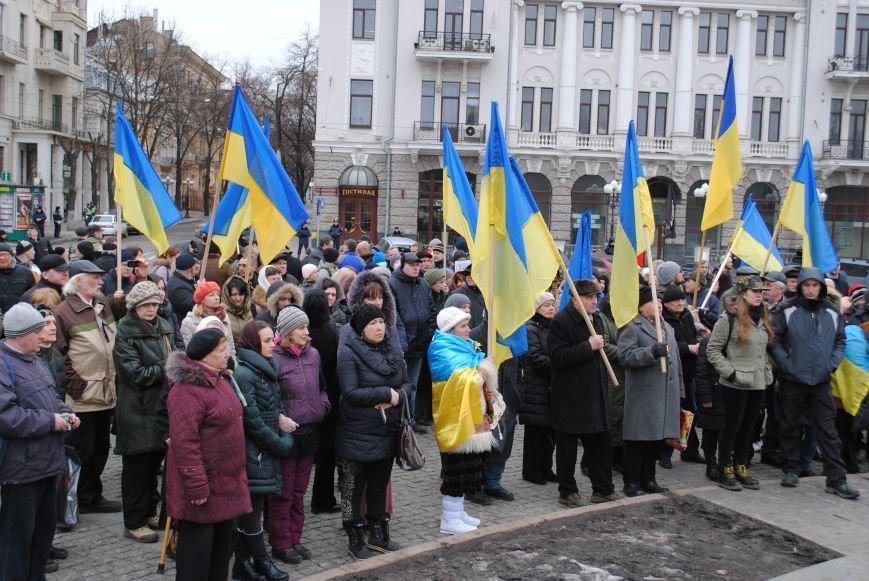 Около памятника Шевченко харьковчане почтили память Бориса Немцова и прошел молебен (ФОТО+ВИДЕО), фото-21