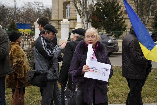 Николаевцы на митинге в поддержку Савченко помолились за «Небесную Сотню» и почтили память Немцова (фото) - фото 1