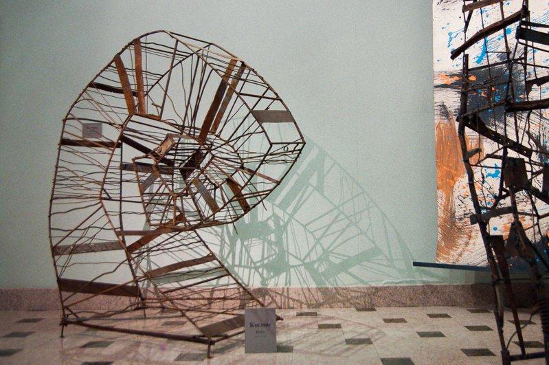 Тени металла. В Белгороде открылась выставка скульптур Сергея Дементьева «Конструкции внутри нас», фото-3