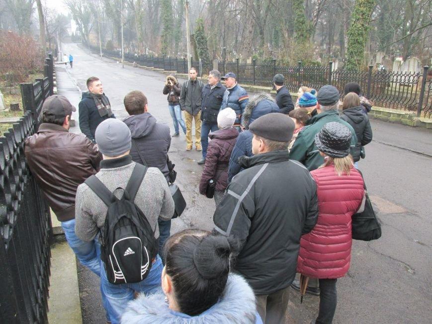 1 березня проведено відкриту екскурсію Ужгородом: «Кладовища Ужгорода» (ФОТО) (фото) - фото 13