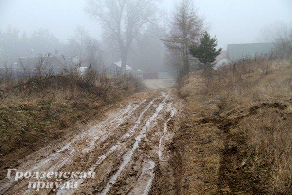 В гродненском частном секторе дороги превратились в болото (Фото) (фото) - фото 2