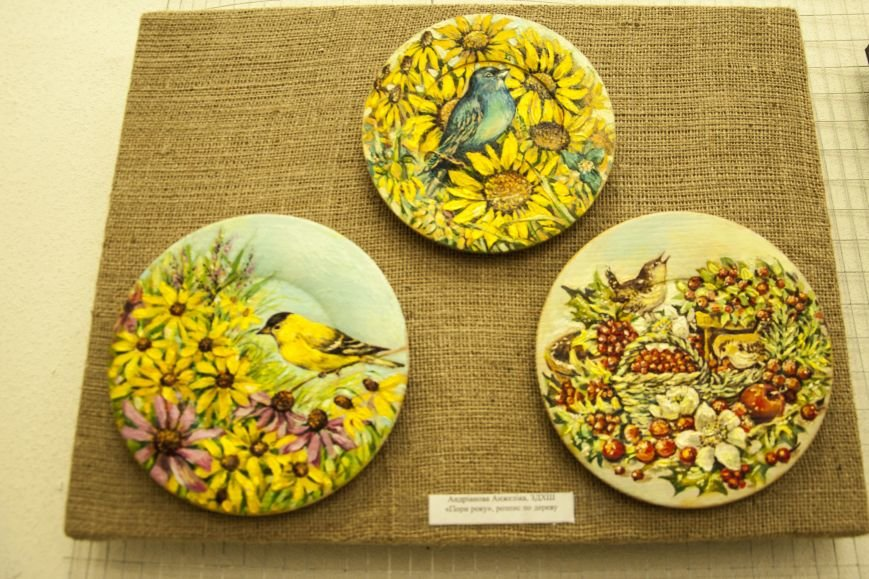 ФОТОРЕПОРТАЖ: В Запорожье художественную выставку посвятили птице – как символу Украины, фото-6