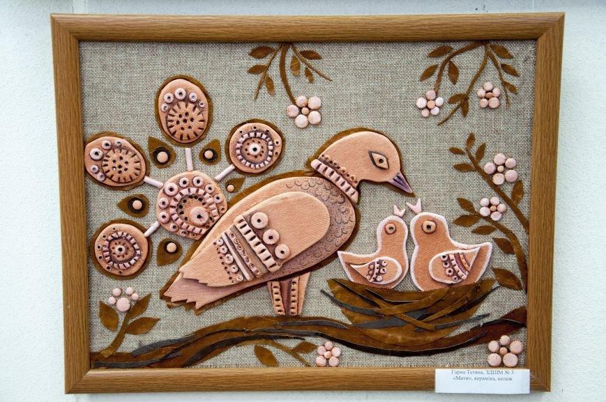 ФОТОРЕПОРТАЖ: В Запорожье художественную выставку посвятили птице – как символу Украины, фото-7