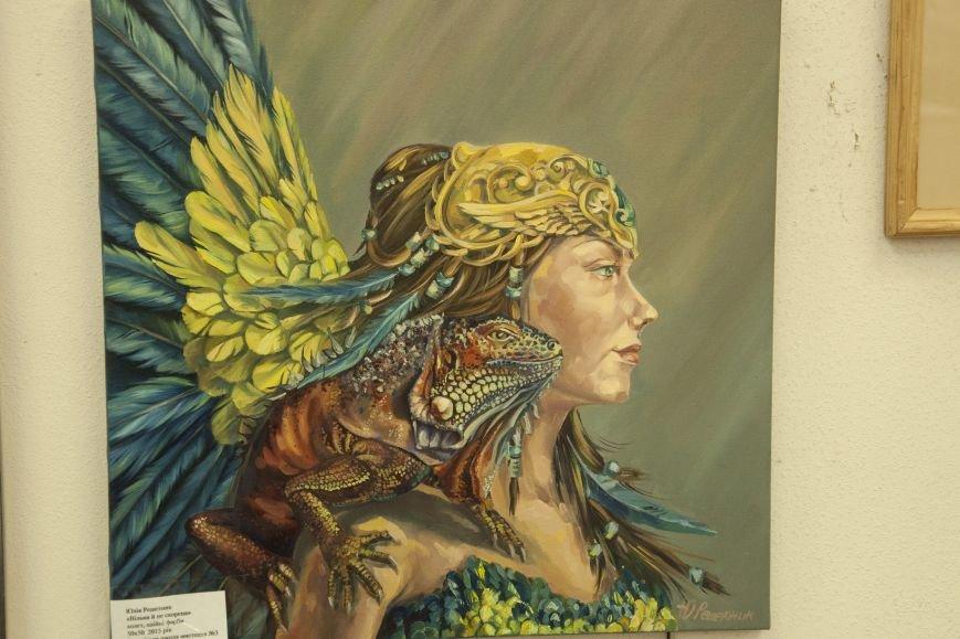 ФОТОРЕПОРТАЖ: В Запорожье художественную выставку посвятили птице – как символу Украины, фото-9