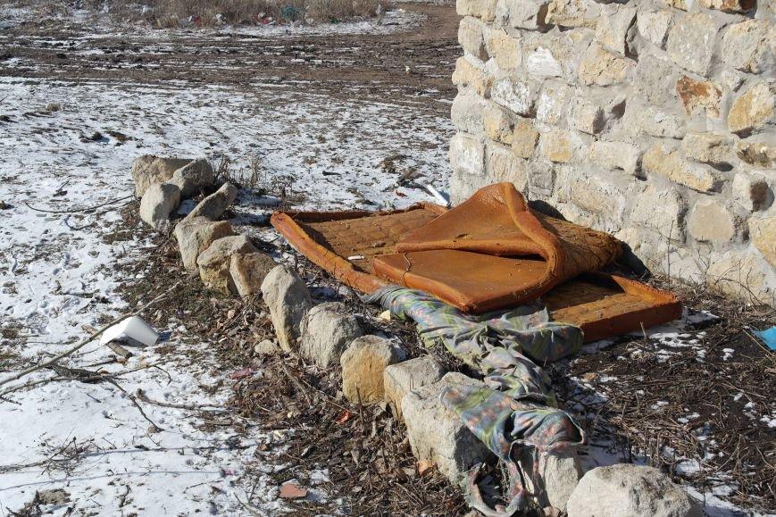 Причины возникновения стихийных свалок мусора в Димитрове (ФОТОРЕПОРТАЖ), фото-4