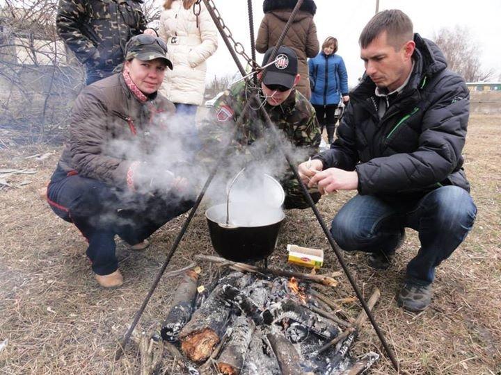 На Днепропетровщине «Правый сектор» учил гражданских воевать (ФОТО), фото-4