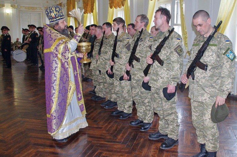 Офицеры запаса в Одессе приняли присягу на верность Украине (ФОТО) (фото) - фото 1
