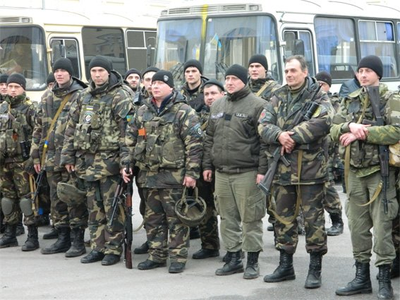 Бойцы батальона «Кировоград» вернулись домой. ФОТО (фото) - фото 1