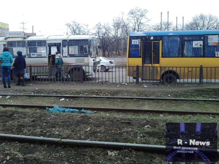В Краматорске столкнулись два автобуса (ФОТО), фото-1