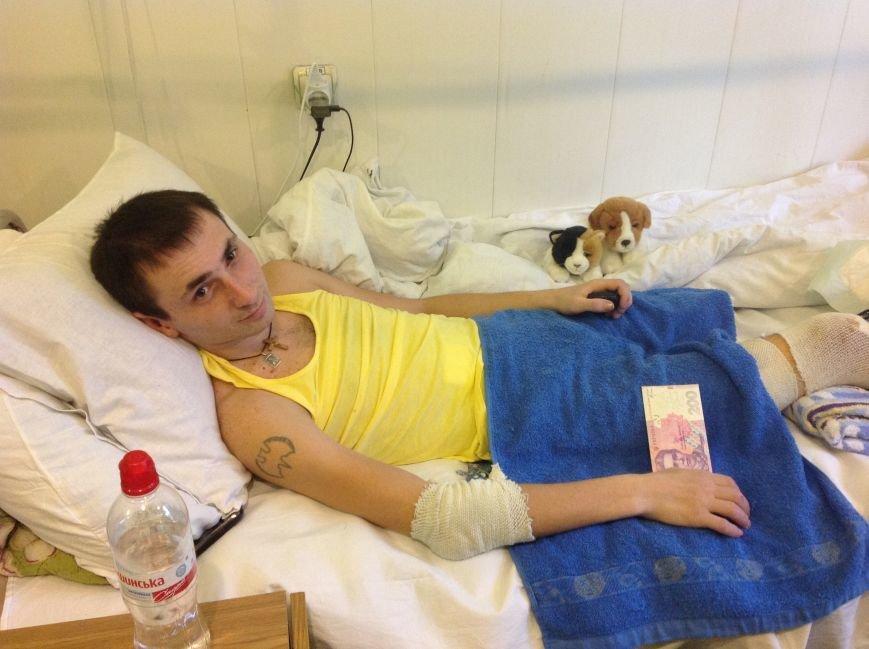 Восьмилетний харьковчанин отказался от празднования дня рождения, а подаренные деньги отдал раненному бойцу АТО (ФОТО+ВИДЕО), фото-2