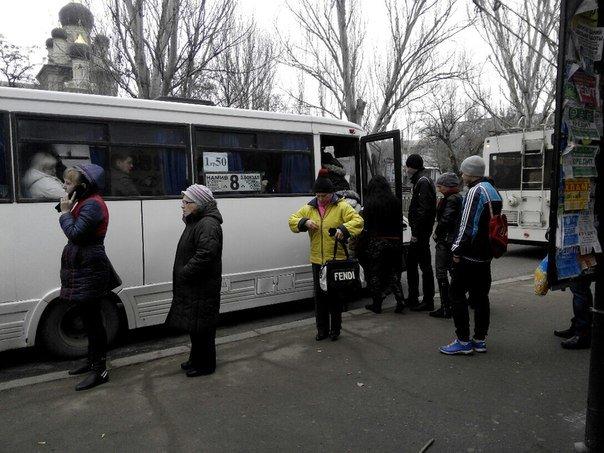 В Николаеве начался транспортный коллапс: маршрутчики требуют повысить цену на проезд до 5 гривен (ФОТО) (фото) - фото 2