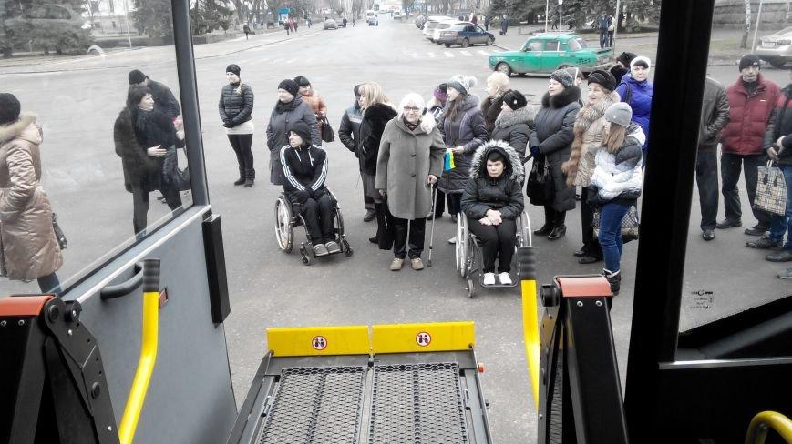 В Краматорск приехал автобус для инвалидов (фото) - фото 2