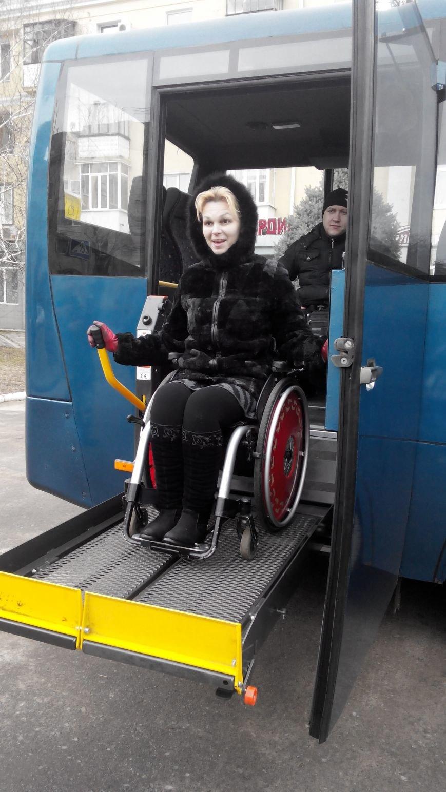 В Краматорск приехал автобус для инвалидов (фото) - фото 3