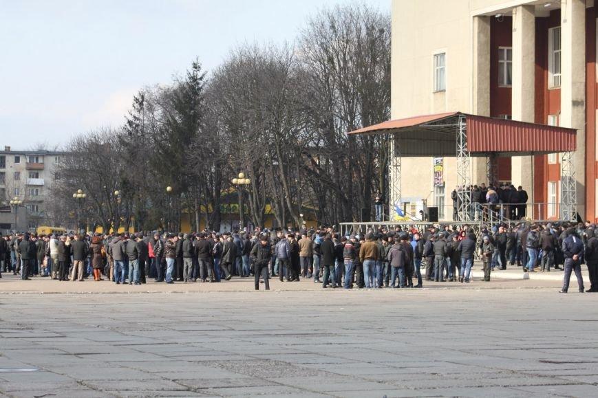 Шахтарі Львівщини протестують, щоб їм виплатили зарплату (ФОТО+ВІДЕО) (фото) - фото 2