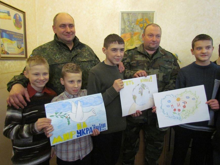 Львовские милиционеры и мариупольские волонтеры общались с детьми (ФОТО), фото-14