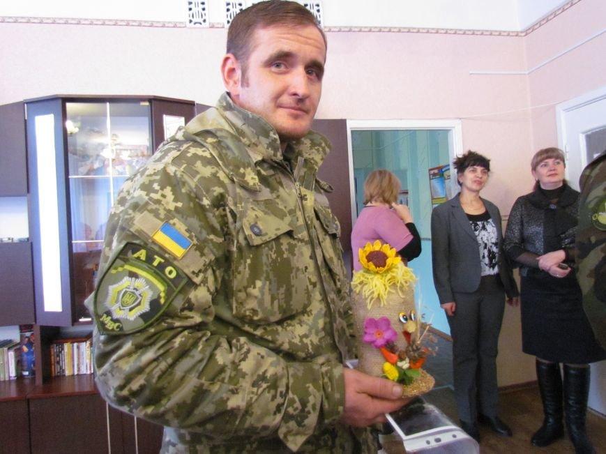 Львовские милиционеры и мариупольские волонтеры общались с детьми (ФОТО), фото-13
