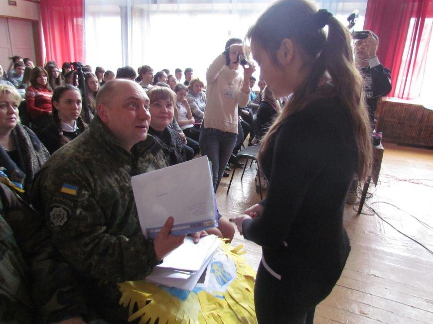 Львовские милиционеры и мариупольские волонтеры общались с детьми (ФОТО), фото-6