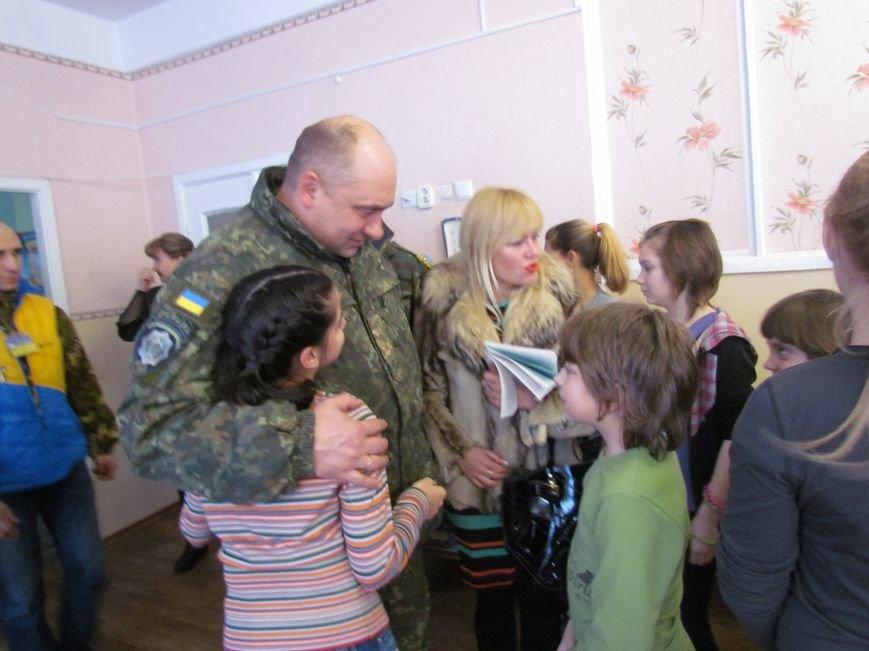 Львовские милиционеры и мариупольские волонтеры общались с детьми (ФОТО), фото-12