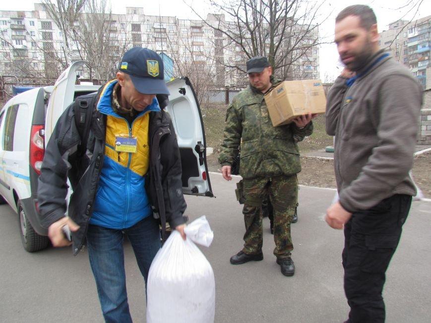 Львовские милиционеры и мариупольские волонтеры общались с детьми (ФОТО), фото-11