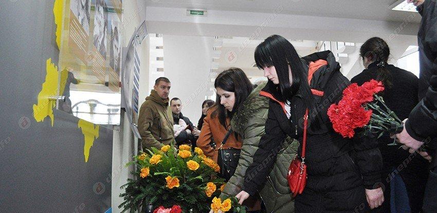 В Днепропетровском университете почтили память погибших выпускников (ФОТО) (фото) - фото 1