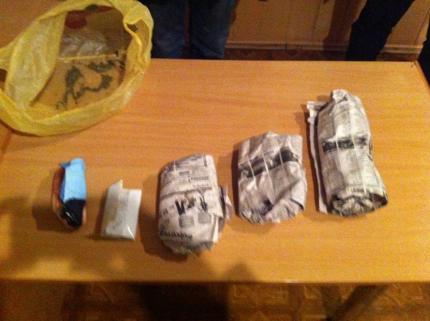 Красноармейские правоохранители изъяли каннабис у 41-летнего пособника террористов, фото-1