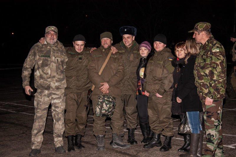 Запорожцы признавались в любви бойцам Национальной гвардии (ФОТО) (фото) - фото 1