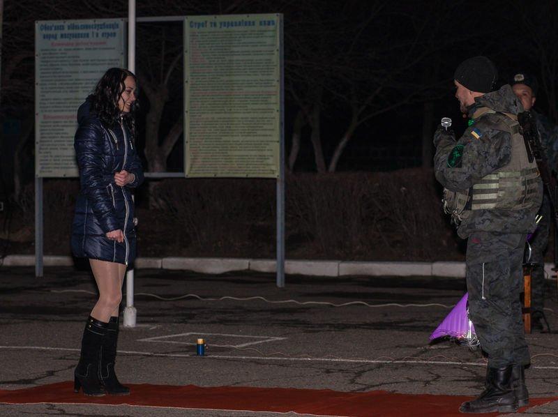 Запорожцы признавались в любви бойцам Национальной гвардии (ФОТО) (фото) - фото 4