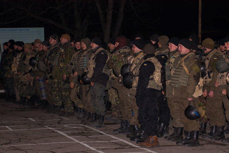 Запорожцы признавались в любви бойцам Национальной гвардии (ФОТО) (фото) - фото 2