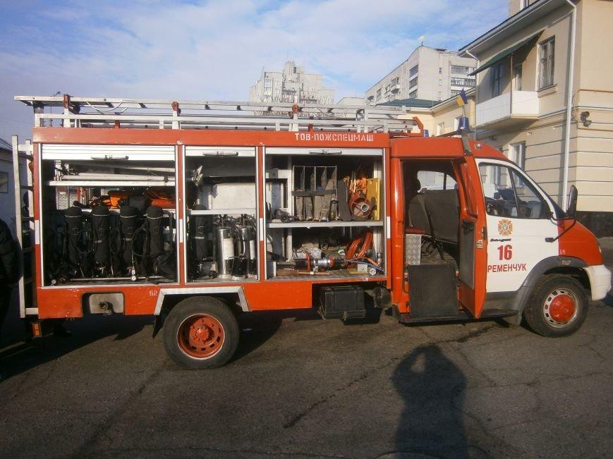 Кременчугские пожарные спасатели учили студентов своему ремеслу (ФОТО) (фото) - фото 1
