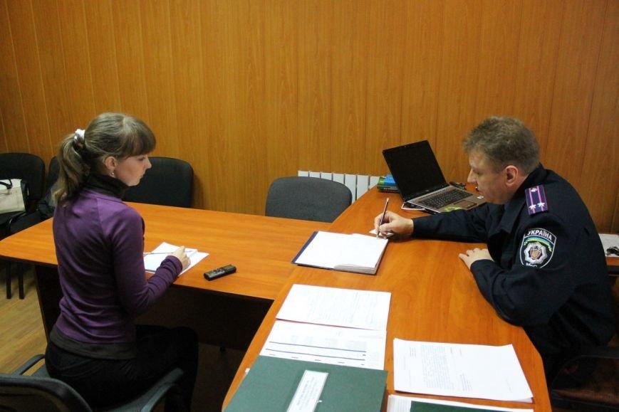 Начальник ГАИ рассказал о работе отделения в г. Доброполье (фото) - фото 2