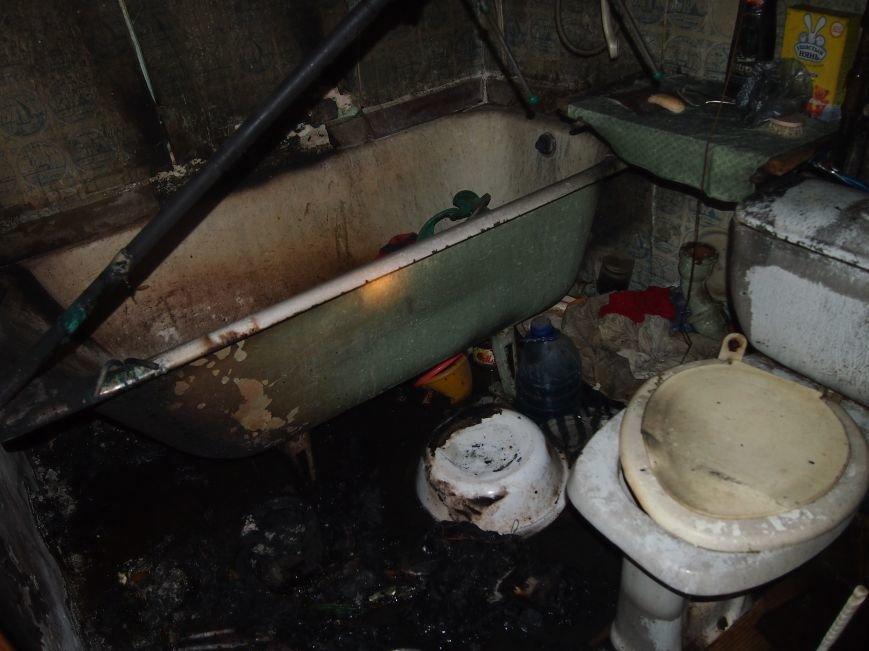 Днепродзержинские спасатели потушили пожар в пятиэтажке на Димитрова (фото) - фото 1