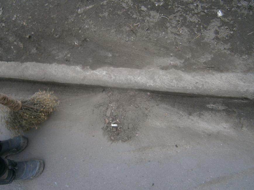 В Димитрове дворники приступили к уборке межквартальных проездов (ФОТОРЕПОРТАЖ) (фото) - фото 4