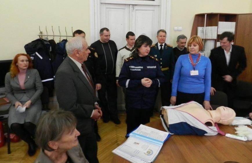 Херсонское областное управление образования училось вести себя во время ЧП (фото) (фото) - фото 3