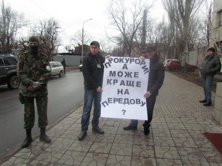 В Мариуполе офицера, спасавшего бойцов под Иловайском, обвинили в незаконном ношении оружия (ДОПОЛНЕНО), фото-3