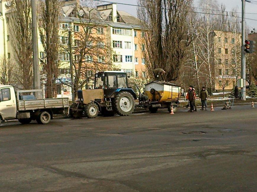 У Полтаві розпочався сезон ремонту доріг (ФОТО) (фото) - фото 1