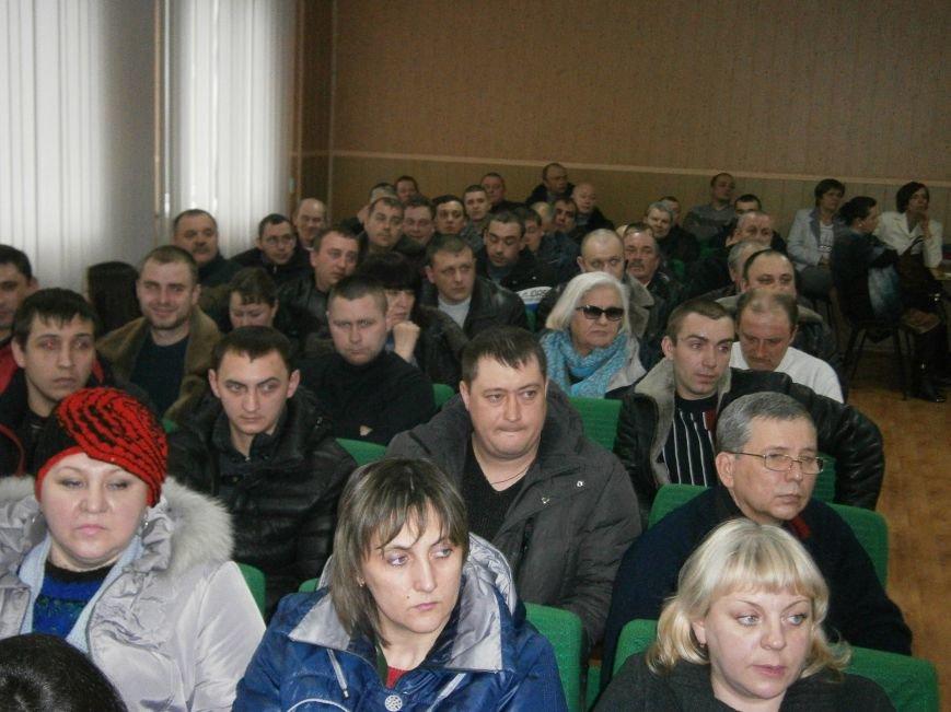 На конференции НПГУ в ГП «Селидовуголь» горняки решили готовиться к забастовке (фото) - фото 4