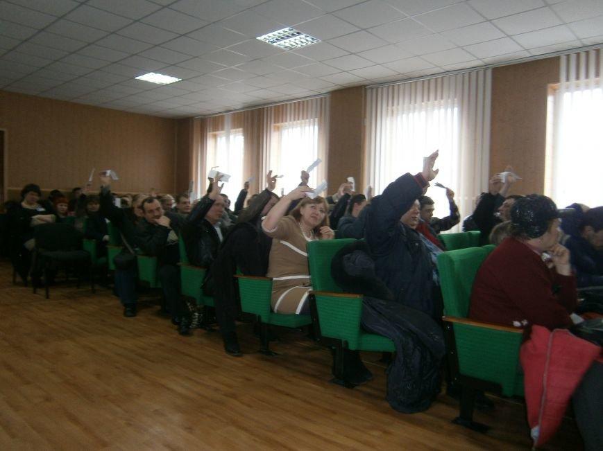 На конференции НПГУ в ГП «Селидовуголь» горняки решили готовиться к забастовке (фото) - фото 5