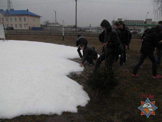 В Гродно 44 школы провели учебную эвакуацию (Фото) (фото) - фото 12