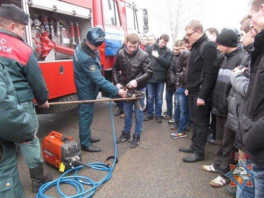 В Гродно 44 школы провели учебную эвакуацию (Фото) (фото) - фото 8