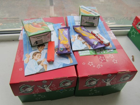 В Александрии детям-переселенцам вручили американские подарки (фото) - фото 1